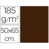 Cartulina 50x65 cm 180g/m2 marron
