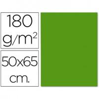 Cartulina 50x65 cm 180g/m2 verde oscuro