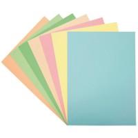 Cartulina din-A4 color verde claro paquete 50 unidades