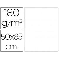 Cartulina 50x65 cm 180g/m2 blanco