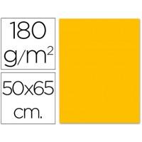 Cartulina 50x65 cm 180g/m2 naranja