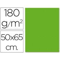 Cartulina 50x65 cm 180g/m2 verde