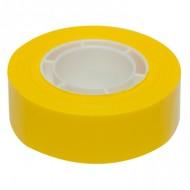 Cinta adhesiva apli 33 mt x 19 mm color amarillo