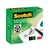 Cinta adhesiva scotch-magic Rollo 33 mt x 19 mm