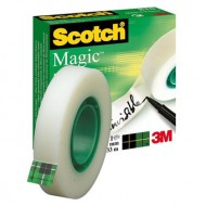 Cinta adhesiva scotch-magic Rollo 33 mt x 19 mm