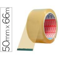 Cinta adhesiva tesa transparente 66 mt x 50 mm -para embalaje