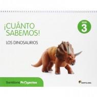 Cuanto Sabemos Los dinosaurios Nivel 3