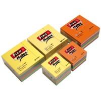 Cubo de notas adhesivas Fixonotes Pastel 400 hojas 76x76mm