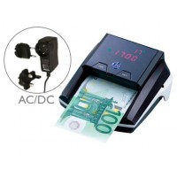 Detector q-connect de billetes falso con cargador electrico puerto usb actualizacion de divisas