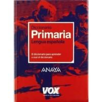 Diccionario de Primaria de la Lengua española. Anaya Vox.