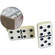 Domino marfil -caja plastico