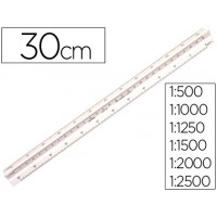 Escala faber plastico 153-c 1:500-1000-1250-1500-2000-2500