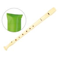 Flauta hohner plastico 9508 -funda verde