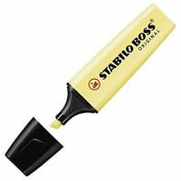 Fluorescente Stabilo Boss Amarillo Pastel