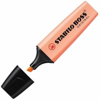 Fluorescente Stabilo Boss Naranja Pastel