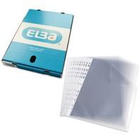 Funda multitaladro elba cristal tamaño folio Caja de 100 unidades