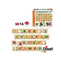 Juego diset didactico abecedario