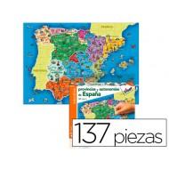 Juego diset didactico provincias de españa