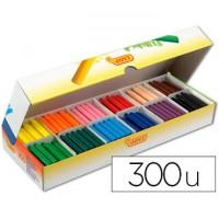 Lápices de cera Jovicolor - 300 lápices surtidos