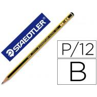 Lapices de grafito staedtler noris n.1 b unidad