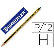 Lapices de grafito staedtler noris n.3 h unidad