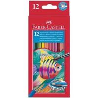 Lapices de colores faber-castell acuarelables c/ 12 surtidos