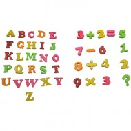 Letras Imantadas Mayúsculas 26 unidades (abecedario)