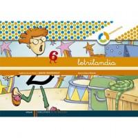 Cuaderno Letrilandia 6 Pauta Montessori
