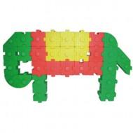 Maletin 120 piezas de bloques de plástico