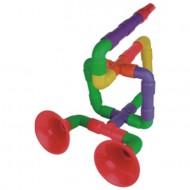 Maletín de 72 piezas figuras tubo trompeta