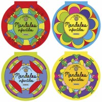 Mandalas Infantiles 4 Títulos