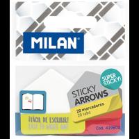 Marcadores de Página Milan Flecha