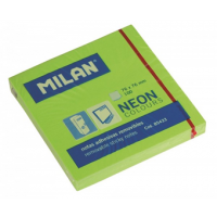 Notas Adhesivas Milan Neón Verde