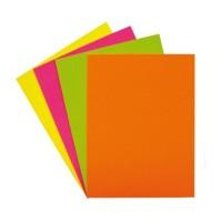 Papel Colores Flúor 100 Unidades