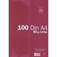 Papel A4 Liso 90 grs Paquete 100 hojas