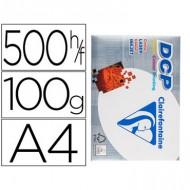 Papel fotocopiadora clairefontaine din a4 100 gramos paquete de 500 hojas.