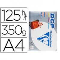 Papel fotocopiadora clairefontaine din a4 350 gramos paquete de 125 hojas.