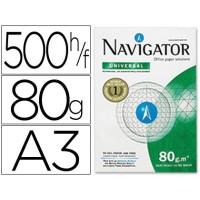 Papel fotocopiadora navigator din a3 80 gramos papel multiuso ink-jet y laser-paquete de 500 hojas
