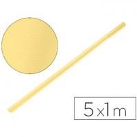 Papel kraft color miel - rollo 5x1 metros.