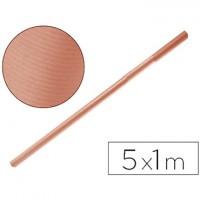 Papel kraft color salmon - rollo 5x1mts.