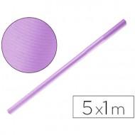 Papel kraft liderpapel lila rollo 5x1 mt.