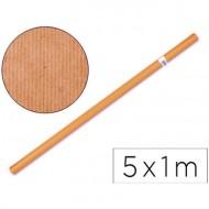 Papel kraft naranja -rollo 5x1 mt.