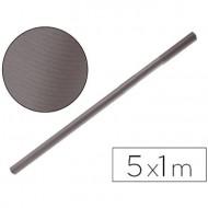 Papel kraft liderpapel gris ferro rollo 5x1 mt.