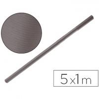 Papel kraft negro -rollo 5x1 mt.