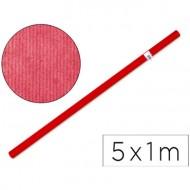 Papel kraft rojo -rollo de 5x1 mt.