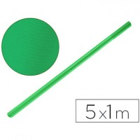 Papel kraft verde -rollo 5x1 mt.