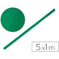 Papel kraft liderpapel verde musgo rollo 5x1 mt.