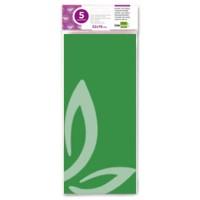 Papel seda liderpapel 52x76cm 18g/m2 bolsa de 5 hojas verde