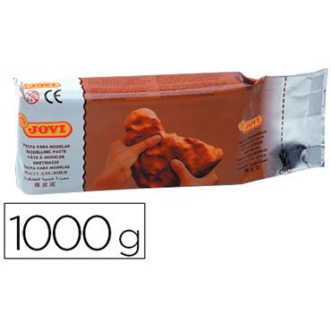 Pasta jovi para modelar 1000 gr terracota.