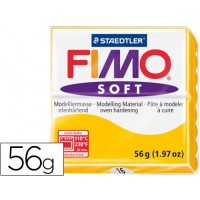 Pasta staedtler fimo soft 56 gr color amarillo